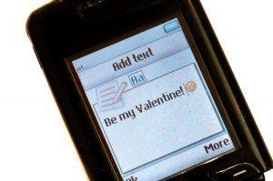 langage sms sur téléphone