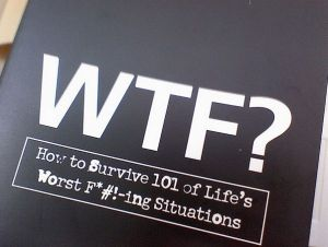 Que signifie wtf ?